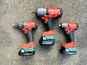 Hitachi/Hikoki 18v battery adapter to Milwaukee m18 Tools, for one piece