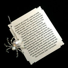 German Christmas Spider Ornaments (Silver)