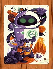 """TIN SIGN """"Wall E""""  Disney Vintage Ride Art Painting Movie Poster"""