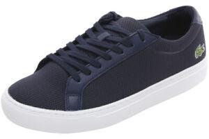 Lacoste Men's L.12.12 BL 2 Navy Sneakers Shoes