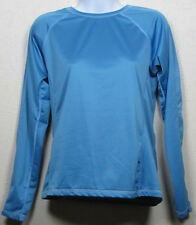 Womens Marmot Fitness Thermal Base Layer Long Sleeve Blue Shirt Top M