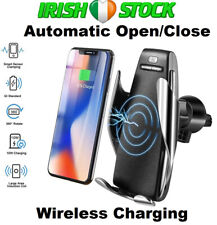 Automatic Clamping Wireless Car Charger Air Vent Mount Phone Holder Dock Base