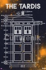 TELEVISION POSTER Doctor Who Tardis Measurements 24x36 Trends