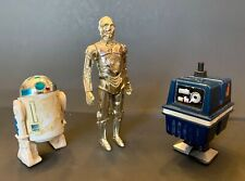 Star Wars Droids - Vintage 1970s Kenner Action Figure Lot (3 Total)