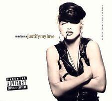 Madonna : Justify My Love CD