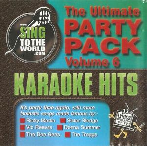 The Ultimate Party Pack Volume 6 (Karaoke CDG) Ricky Martin, Sister Sledge, etc