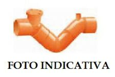 Raccorderia Edilizia PVC Arancio SIFONE FIRENZE (1 tappo / 1 sfiato)