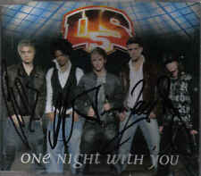US5-One Night With You cd maxi single Signed By The Members