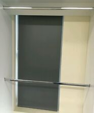 Sale Wardrobe hanging rods hanging rails chrome oval hangers 2.7 metres