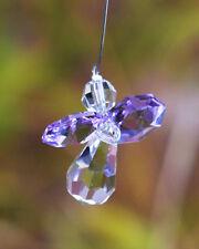 Violet Crystal Guardian Angel Sun Catcher/Rainbow Maker