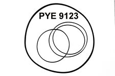 SET BELTS PHILIPS PYE 9123 REEL TO REEL EXTRA STRONG NEW FACTORY FRESH RIEMEN