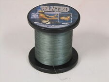 'WANTED' 10LB (4.5KG) DYNEEMA/BRAID FISHING LINE - 1000MTR REEL