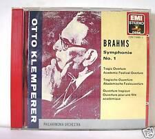 BRAHMS SINFONIA N 1 KLEMPERER   CD