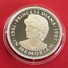 Liberia 1997 Princesse Diana Memorial $20 1 oz (environ 28.35 g) .999 Fine Silver Proof