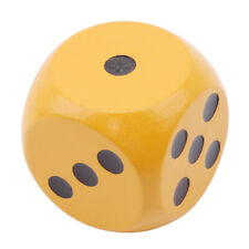 6pcs Set Colorful Wooden Children Yard Dice Yard Games Outdoor Funny Toy WE