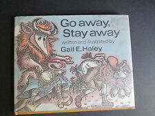 1977 Go Away Stay Away Gail haley Illustrated Folklore Ritual Demon Purge, Masks