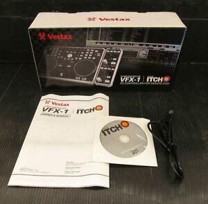 Vestax VFX-1 DJ Effector FX MIDI Controller for Serato ITCH Serial No.G9A041214