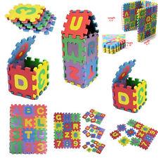 36pcs Large Interlocking EVA Foam Alphabet Letters Numbers Play Mat Puzzle New