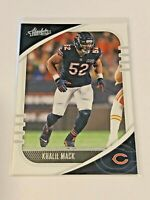 2020 Panini Absolute Football #58 - Khalil Mack - Chicago Bears