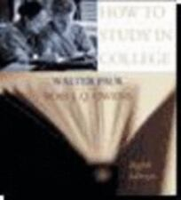 How to Study in College by Walter Pauk and Ross J. Q. Owens (2004, Paperback)