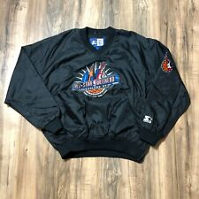 Vintage STARTER 1997 NBA All Star Weekend Cleveland Basketball Jacket Mens Sz L