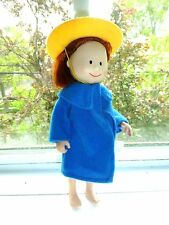 """Eden Madeline Doll 8"""" Doll In Clothing Accessories Coat Hat Pose-Able Dolls Doll"""