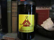 Cigar Jar Humidor Montecristo Habana Havana Monte Cristo Executive Desk Top Jar