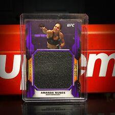 2020 Topps UFC Knockout Amanda Nunes vs Ronda Rousey 207 Relic 3/25 🟣