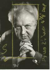 Mr Leopold Stokowski 6.5 x 4.75 Black & White Photograph
