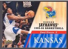 2013 Upper Deck Kansas #60 Paul Pierce Mint Jayhawks KU Basketball Rock Chalk