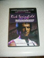 *NEW* RICK SPRINGFIELD CHRISTMAS WITH YOU CD, + DVD LIVE & KICKIN 1982