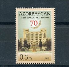 Azerbaijan 2015 MNH Academy of Sciences 70th Anniv 1v Set Architecture Buildings
