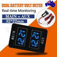 Dual Battery Volt Meter For Toyota Prado 150, Landcruiser 200, 2016 Hilux, RAV4
