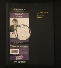 AT-A-GLANCE Teacher's Planner Undated Plan Book Black 8015505 New