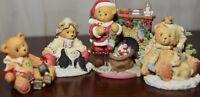 Cherished Teddies Kristen, Noel, Charlie, Sanford 4 Pieces