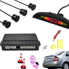 LED Display Car Parking Rear Reversing Sensors Kit Buzzer Audio Alarm Parktronic