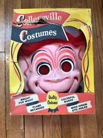 Vintage Collegeville Troll Halloween Costume w box Large #729 Wig 'n' Mask 1965