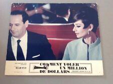PHOTO D'EXPLOITATION (LOBBY CARD) : COMMENT VOLER UN MILLION DE DOLLARS