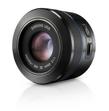 SAMSUNG NX 45mm F1.8 i-function Lens Black (White Box)  -2d/3d compatible