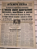 WW2 @  SECONDA GUERRA MONDIALE@INIZIO DELLE OPERAZIONI DI GUERRA@04-05/09/1939