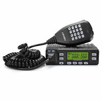 Leixen VV-898 Dual Band V/U 10W DTMF Car Mobile Emisora Transcept Antenna SO-239
