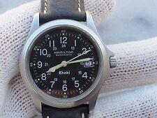 HAMILTON 9823 KHAKI AUTOMATIC ETA 2892 A2 MENS 37mm SWIS SERVICE CLEAN JUST MADE