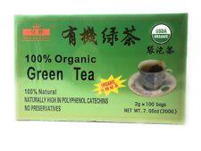 CHINESE ORGANIC GREEN TEA (100 BAG) USDA CERTIFIED Royal King Brand