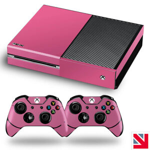 SOFT PINK GLOSS Colour XBOX ONE Skin Decal Vinyl Sticker Wrap