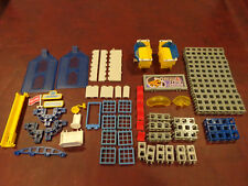 Rokenbok Building Toy Stucture replacment parts Lot of 76 parts