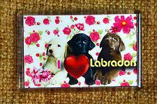 Labrador Retriever Gift Dog Fridge Magnet Puppies 77x51mm Xmas Mothers Day Gift