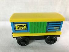 Lion Car Roaring Sound Train Thomas & Friends The Engine Tank  Wooden Railway