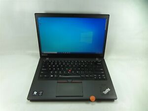 "Lenovo T450s 14"" Laptop 2.3 GHz i5-5300U 500GB HDD 8GB RAM Win 10 Home (Grade A)"