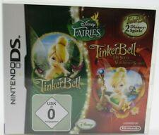 TINKER BELL 2 DISNEY GAMES * Nintendo DS * NDS * 2 Disney Spiele * Disney Faires