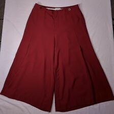 The Essential Culotte by Anthropologie Rusty Red US Size 8